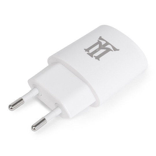 BASIC MAILLON TECHNOLOGIQUE  WALL CHARGER PLASTIC 1 USB 2.1A