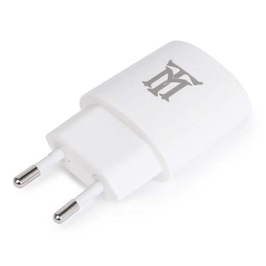 PREMIUM MAILLON TECHNOLOGIQUE  WALL CHARGER PLASTIC 1 USB 2.4A